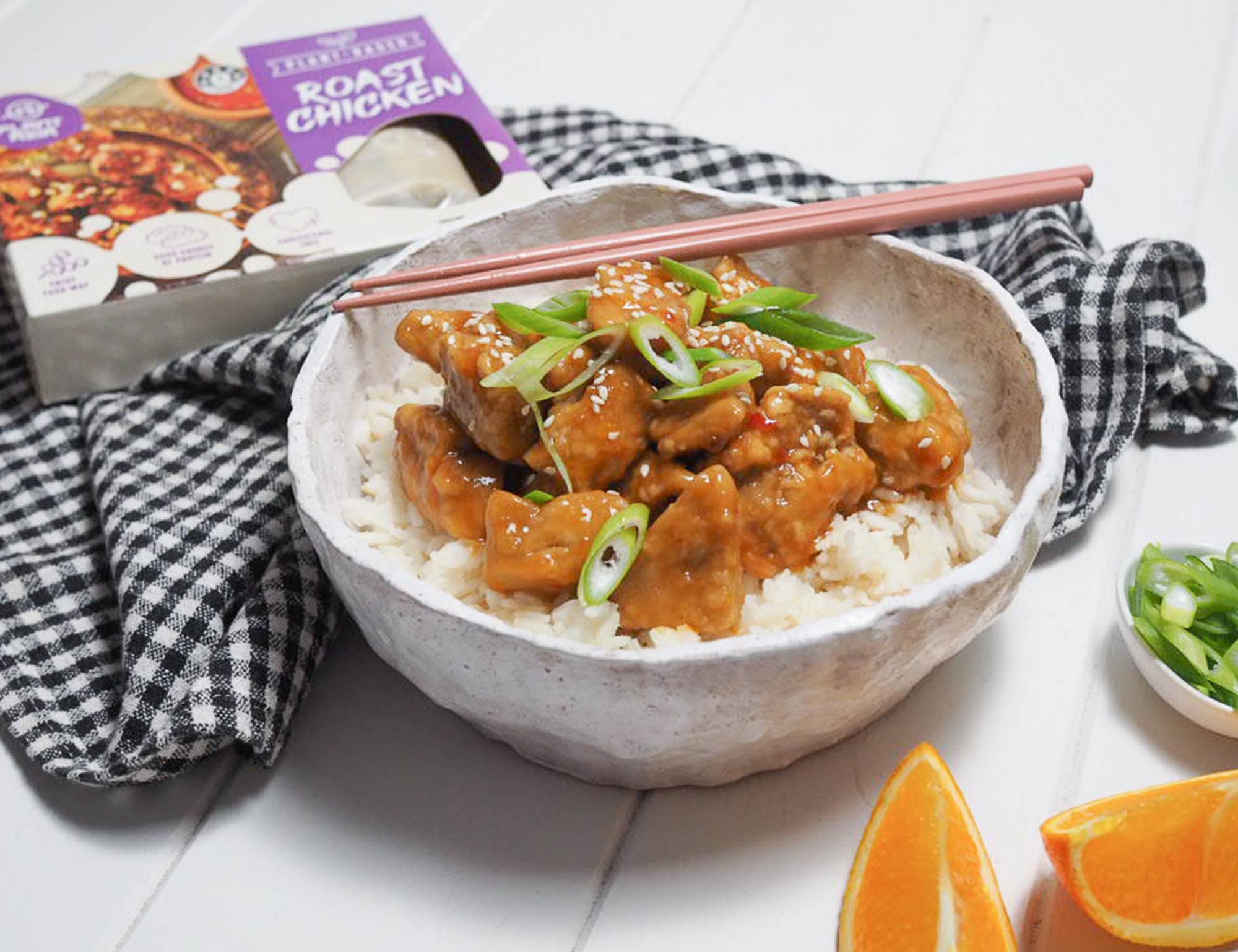 PlantAsia Orange Chicken – Meat Free